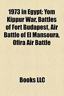 1973 in Egypt: Yom Kippur War, Battles of Fort Budapest, Air Battle of El Mansoura, Ofira Air Battle, Libyan Arab Airlines Flight 114
