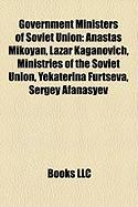 Government Ministers of Soviet Union: Anastas Mikoyan