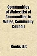 Communities of Wales: List of Communities in Wales