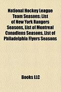 National Hockey League Team Seasons: List of New York Rangers Seasons
