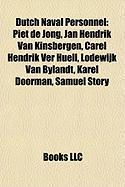 Dutch Naval Personnel: Jan Hendrik Van Kinsbergen