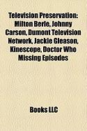 Television Preservation: Doctor Who Missing Episodes