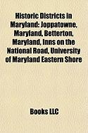 Historic Districts in Maryland: Joppatowne, Maryland
