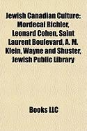Jewish Canadian Culture: Leonard Cohen