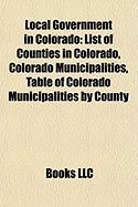 Local Government in Colorado: Colorado Municipalities