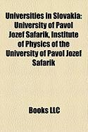 Universities in Slovakia: University of Pavol Jozef Afarik, Institute of Physics of the University of Pavol Jozef Afarik