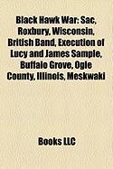 Black Hawk War: Sac, Roxbury, Wisconsin, British Band, Execution of Lucy and James Sample, Buffalo Grove, Ogle County, Illinois, Meskw