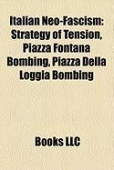 Italian Neo-Fascism: Strategy of Tension, Piazza Fontana Bombing, Piazza Della Loggia Bombing