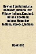 Newton County, Indiana: Roselawn, Indiana, Lake Village, Indiana, Kentland, Indiana, Goodland, Indiana, Mount Ayr, Indiana, Morocco, Indiana