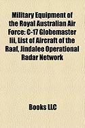 Military Equipment of the Royal Australian Air Force: C-17 Globemaster III, List of Aircraft of the Raaf, Jindalee Operational Radar Network