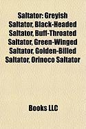 Saltator: Greyish Saltator, Black-Headed Saltator, Buff-Throated Saltator, Green-Winged Saltator, Golden-Billed Saltator, Orinoc