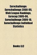 Eurochallenge: Eurochallenge 2008-09, Uleb League Rankings, Eurocup 2005-06, Eurochallenge 2009-10, Eurochallenge Individual Statisti