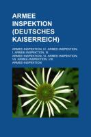 Armee-Inspektion (Deutsches Kaiserreich)