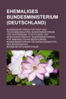 Ehemaliges Bundesministerium (Deutschland)
