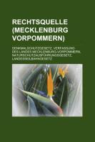 Rechtsquelle (Mecklenburg-Vorpommern)