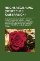 Reichsregierung (Deutsches Kaiserreich)
