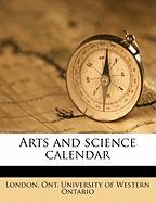 Arts and Science Calendar