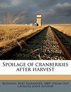Spoilage of Cranberries After Harvest