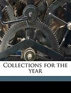 Collections for the Year
