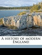 A History of Modern England - Paul, Herbert Woodfield