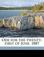 Ode for the Twenty-First of June, 1887 - Palgrave, Francis Turner