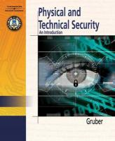 Physical & Technical Security: An Introduction - Gruber, Robert
