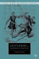 Outlawry in Medieval Literature - Jones, Timothy Scott