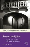 Romeo and Juliet - Rocklin, Edward L.