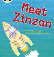 Phonics Bug Meet Zinzan Phase 3 - Atkins, Jill