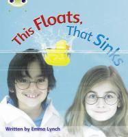 Phonics Bug This Floats That Sinks Phas - Lynch, Emma