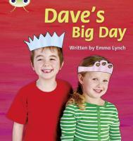 Phonics Bug Daves Big Day Phase 5 - Lynch, Emma
