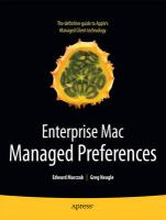 Enterprise Mac Managed Preferences - Marczak, Edward; Neagle, Greg