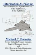Information as Product - Daconta, Michael C.