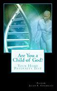 Are You a Child of God? - Chambliss, Pastor Jacob F.