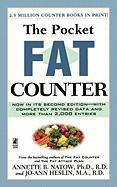 The Pocket Fat Counter: 2nd Edition - Natow, Annette B.