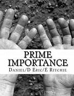 Prime Importance - Ritchie, Daniel/D Eric/E