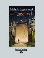 Into the Dark Lands (Large Print 16pt) - Sagara West, Michelle