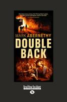 Double Back (Large Print 16pt) - Abernethy, Mark