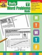 Daily Word Problems, Grade 5 Math - Tuttle, Amy Beth; Tuttle, Wes
