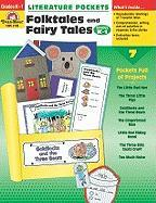 Literature Pockets, Folk Tales and Fairy Tales, Grades K-1 - Evan-Moor Educational Publishers; Moore, Jo Ellen
