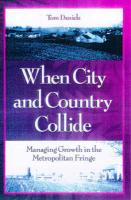 When City & Country Collide, P - Daniels, Tom; Daniels, Thomas L.