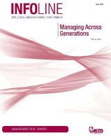 Managing Across Generations - Rowe, Kim A.