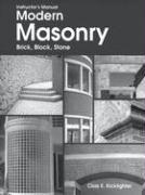 Instructor's Manual Modern Masonry, Brick, Block, Stone - Kicklighter, Clois E.