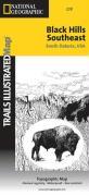 Trails Illustrated - National Parks Map-Black Hills Se/Windcave - Nat'l Par - Trails Illustrated