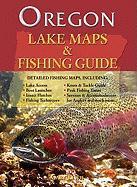 Oregon Lake Maps & Fishing Guide - Lewis, Gary