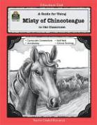 A Guide for Using Misty of Chincoteague in the Classroom - Sanders, Marty Beatty