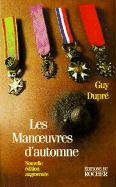 Les Manoeuvres D'Automne - Dupre, Guy; Durpe, Guy