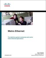 Metro Ethernet (Paperback) - Halabi, Sam