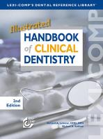 Illustrated Handbook of Clinical Dentistry - Lehman, Richard A.; Sullivan, Michael A.