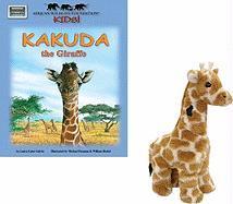 Kakuda the Giraffe [With Plush] - Galvin, Laura Gates
